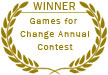 Winner: Games for Change Annual Contest